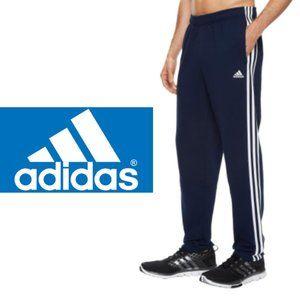 Adidas Mesh Three-Stripe Pants - Large
